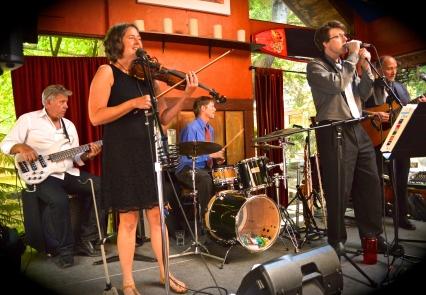 2017 July Charmas band at Michaels on Main group pic